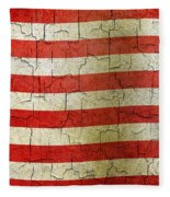 Grunge Liberia Flag Fleece Blanket