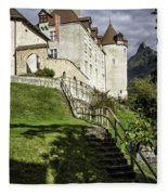 Gruyeres Castle Fleece Blanket