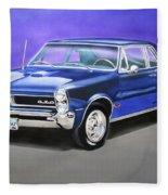 Gto 1965 Fleece Blanket