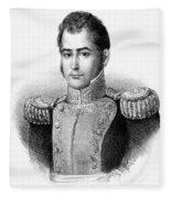 Guadalupe Victoria (1789-1843) Fleece Blanket