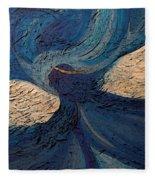 Guardian Angel By Jrr Fleece Blanket