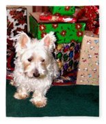 Guarding Christmas Fleece Blanket