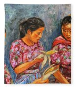 Guatemala Impression IIi Fleece Blanket