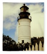 Guiding Light Of Key West Fleece Blanket