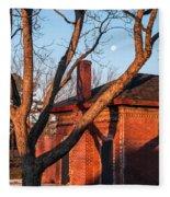 Guignard Brick Works-5 Fleece Blanket