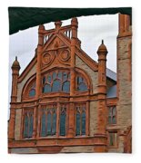 Guildhall In Londonderry Northern Ireland Fleece Blanket