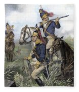 Guilford Courthouse, 1781 Fleece Blanket