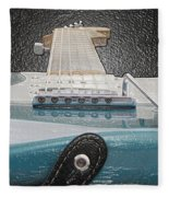 Guitar Art Fleece Blanket