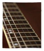 Guitar Neck Fleece Blanket