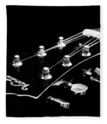 Guitar Ventura Head Stock 1 Fleece Blanket