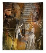 Guitar Works Fleece Blanket