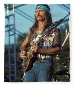 Guitarist Dickie Betts Fleece Blanket