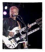 Guitarist Don Felder Fleece Blanket