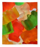 Gummy Bears Fleece Blanket