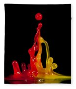 Gummy Drops Fleece Blanket