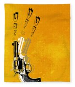 Gun 16 Fleece Blanket