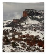Gunnison National Park Fleece Blanket