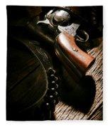 Gunslinger Tool Fleece Blanket