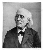 Gustav Theodor Fechner Fleece Blanket