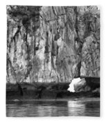 Ha Long Bay Rock I Fleece Blanket