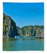 Ha Long Bay  Fleece Blanket