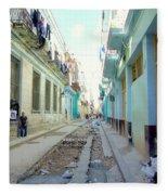 Habana Street Fleece Blanket