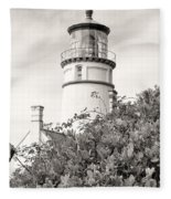 Haceta Head Lighthouse 2 Fleece Blanket