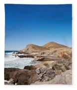 Hacienda Cerritos On The Pacific Ocean Fleece Blanket