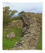 Hadrian's Wall Near Walltown Quarry Fleece Blanket