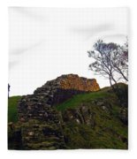Hadrians Wall Fleece Blanket