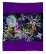 Haeckel Sea Fleece Blanket