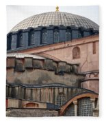 Hagia Sofia Close Up Fleece Blanket