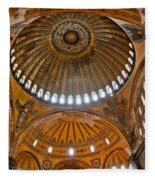 Hagia Sofia Interior 02 Fleece Blanket