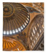 Hagia Sofia Interior 04 Fleece Blanket