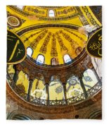 Hagia Sofia Interior 07 Fleece Blanket