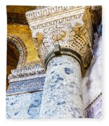 Hagia Sofia Interior 09 Fleece Blanket