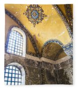 Hagia Sofia Interior 14 Fleece Blanket