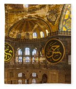 Hagia Sofia Interior 15 Fleece Blanket