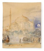 Hagia Sofia Fleece Blanket