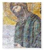 Hagia Sofia Mosaic 12 Fleece Blanket