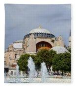 Hagia Sofia Fleece Blanket