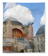 Hagia Sophia 02 Fleece Blanket