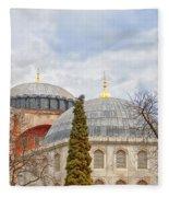 Hagia Sophia 11 Fleece Blanket