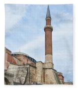 Hagia Sophia 15 Fleece Blanket