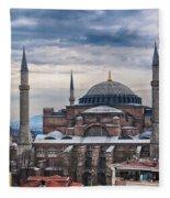 Hagia Sophia 19 Fleece Blanket