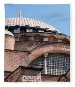 Hagia Sophia Curves 01 Fleece Blanket