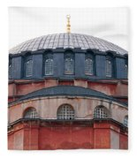 Hagia Sophia Curves 02 Fleece Blanket