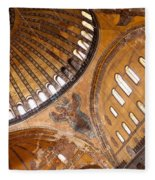 Hagia Sophia Dome 01 Fleece Blanket