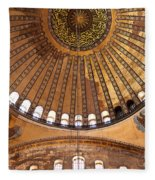 Hagia Sophia Dome 02 Fleece Blanket