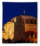 Hagia Sophia Evening Fleece Blanket
